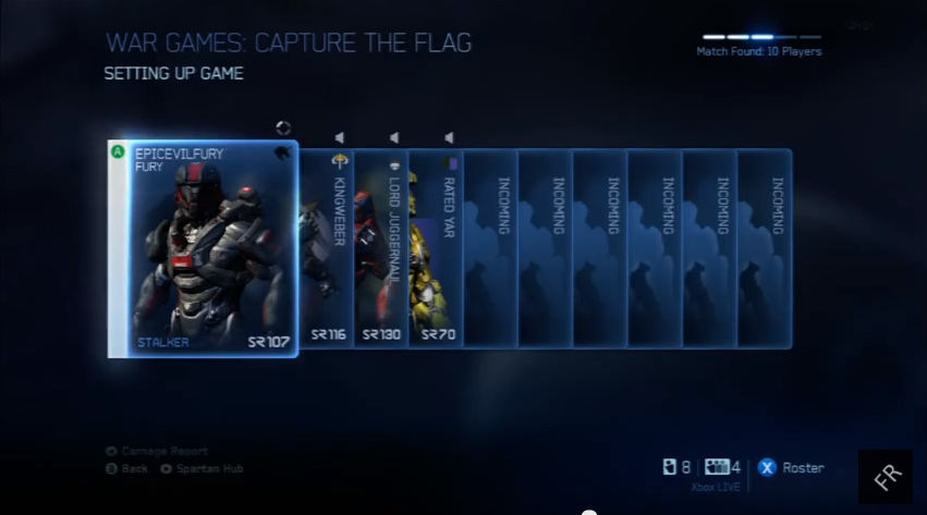 Halo 4 matchmaking problems