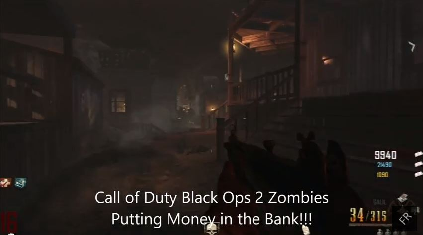 Call of Duty Black Ops 2 Zombies Buried Vengeance DLC put money in