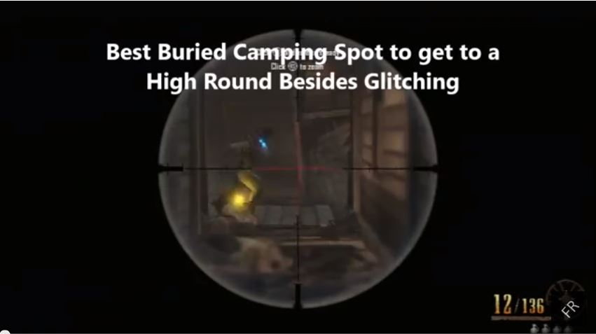 High Round Camping Spot Glitch for Buried Zombies in Call of