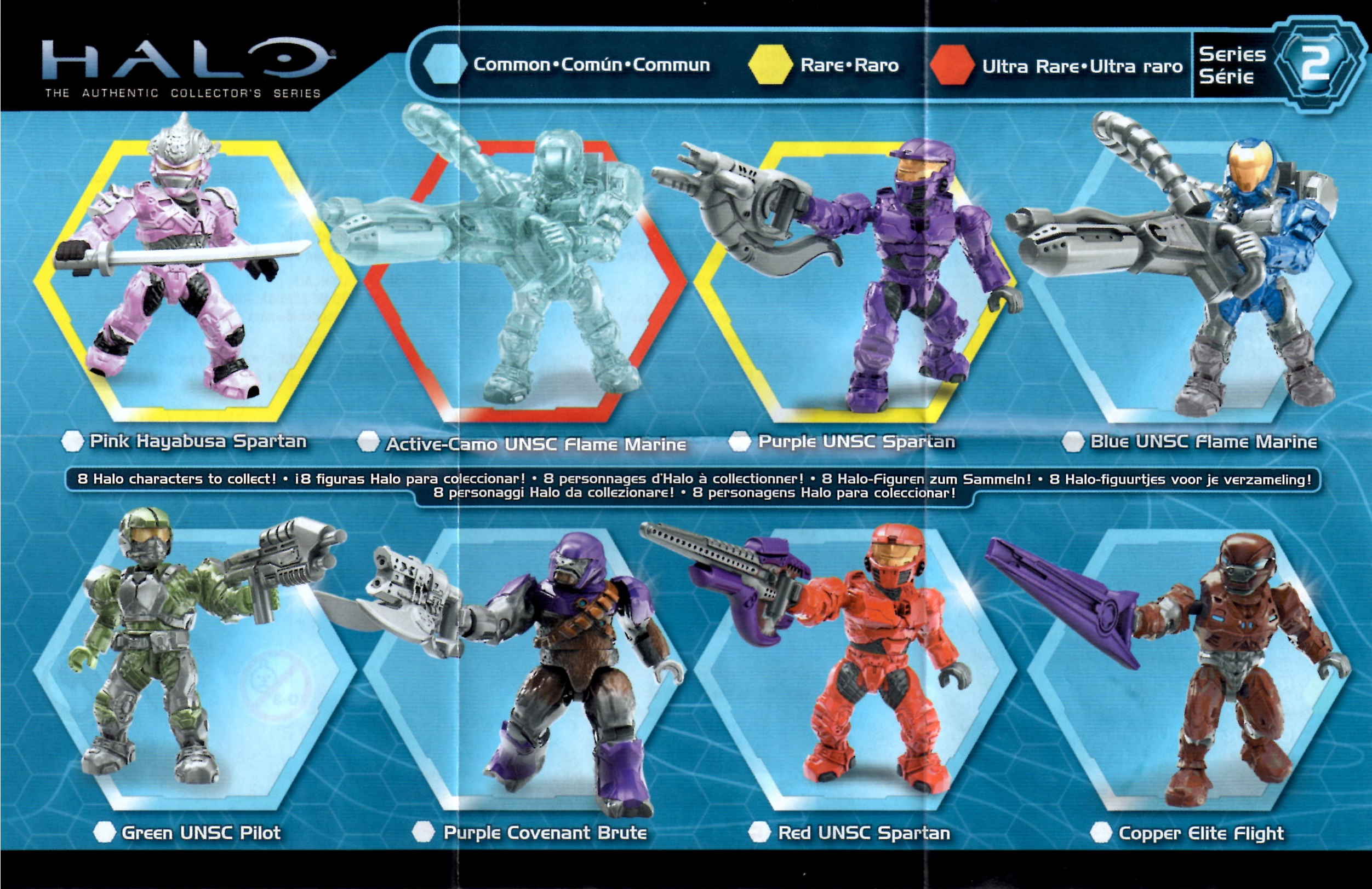Pin 2013 Halo Mega Bloks Series 6 Mystery Packs Figures