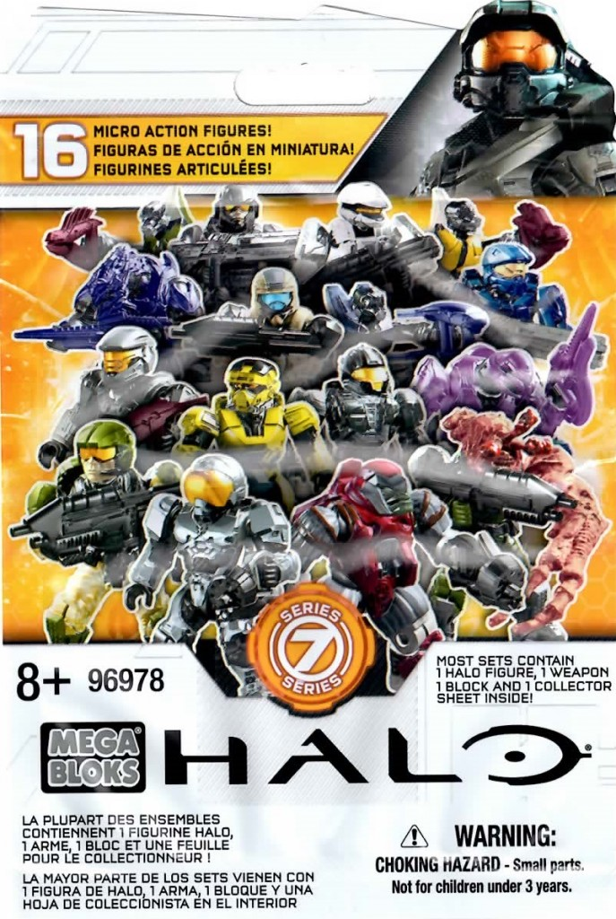 Halo Mega Bloks Series 7 Code Bag
