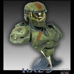Halo Spartan One2One Bust Statue