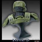Halo Spartan One2One Bust Statue 2